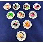 Cake Plate (Price Each) (35mm Diam)