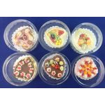 1:6 Cake Heart Shape (Price Each) (30mm)