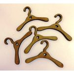 1:6 Coat Hangers with Heart Set 5 (75mmW)