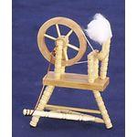 """Spinning Wheel Oak (3.5""""H x 2.625""""W x 1.75""""D)"""