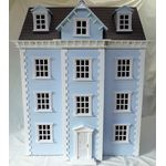 Dolls House Kit Blue (860H x 650W x 420Dmm (500D to front porch)
