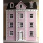 Dolls House Kit Pink (860H x 650W x 420Dmm (500D to front porch)
