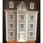 Dolls House Kit Lilac/Grey (860H x 650W x 420Dmm (500D to front porch)