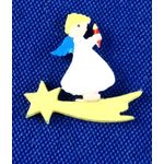 Angel on a Star (14 x 15mm) by Cinderella