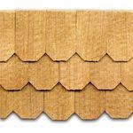 Cedar Shingles Hexagonal 140Pk = 0.75SF