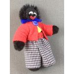 Golliwog with Red Jacket (43mmH) by Les Bears