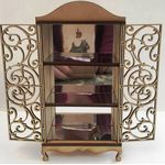 Laser Cut French Cabinet with Mirrors Kit (153mmH x 82mmW)