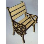 Garden Chair Kit Laser Cut (75 x 50 x 47mm)