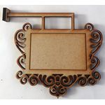 Wall Sign Kit Laser Cut (Sticks out 90mm Box is 50x32)