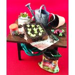Potting Table by Wendy's Miniatures (80W x 90H x 55Dmm)