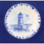 Delf Dish Blue by NiGlo (24mm Diam)
