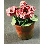Geraniums in Pots Hand Made and Painted from Kit by Petite Romantique