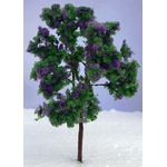 9cm Tree with Purple Flowers