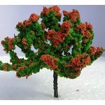 8cm Tree with Orange Flowers