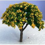 8cm Tree with Yellow Flowers