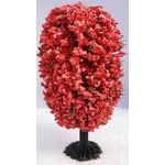 9cm Tree Red Egg