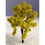 5cm Yellow Tree