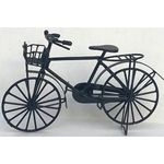 Bicycle Black with Basket