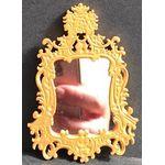 Mirror with Gold Surround (67Wx100Hx5Dmm)