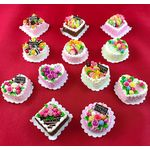 Cakes (Price Each) (25mm Diam/Sqr 15mmH)