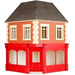 "The Corner Building Kit for the Street (25 5/8H x 16 1/2W x 16 1/2""D)"