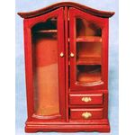Combination Wardrobe Mahogany (8.8cm x 13.8cm x 4.2cm )
