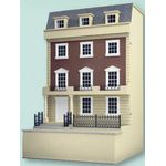 "1:24 Kensington Dolls House Kit (17 3/8H x 14W x 9 1/2""D) (No basement)"