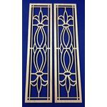 French Door Pair Type KF2 (35W x 147H x 2Dmm)