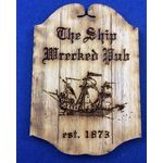 Ship Wrecked Pub Sign (48W x 68Hmm)