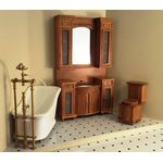 Italia Cherry Bathroom Set 3Pc