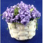 Lavender in a Basket by Petite Romantique (30H x 30mmDiam)