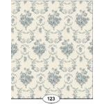 Blue Toile de Juoy Wallpaper (267 X 413mm)