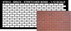 Stencil Stretcher Bond 1:24 Scale