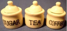 Coffee, Tea and Sugar Set