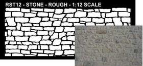 Stencil Rough Stone (280mm x 120mm )
