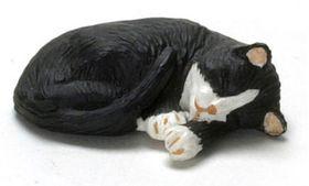 """Cat Sleeping Socks (0.25""""H x 1.25""""W x 1""""D)"""