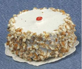 Cake Vanilla with Nuts