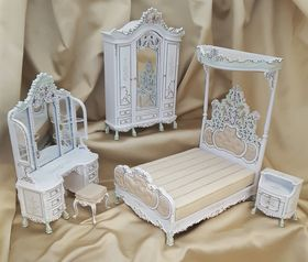 Le Cristina Bedroom Set 5 Pc Limited Edition