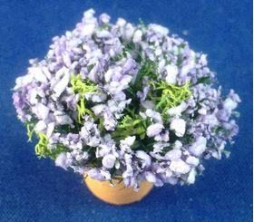Lavender in Terracotta Pot by Petite Romantique (28mmH)