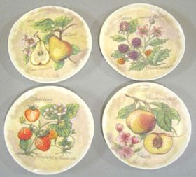 "Tan Fruit Platter (Price Each) (1 1/2"" each)"
