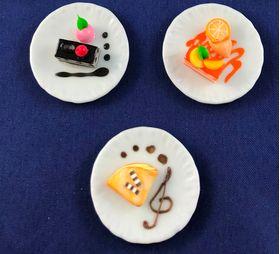Cake Plate (Price Each) (35mm Diam)