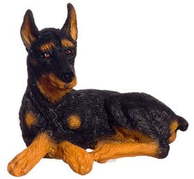 "Dog Doberman (1.5""H x 1.875""W x 1.5""D)"