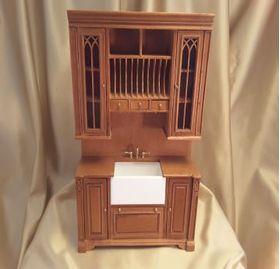 "Cambridge Manor Sink Cabinet Cherry (5-1/8"" W x 1-7/8"" D x 7-9/16"" T)"