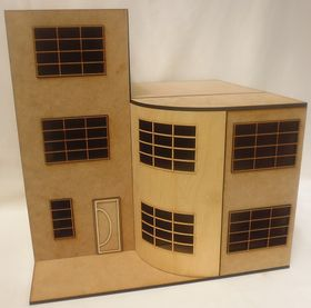 1:24 Art Deco House Kit Laser Cut
