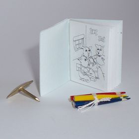 Generic Colouring Book by Michelle's Miniatures