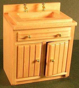 Kitchen Unit Sink Unit Oak (76W x 42D x 90Hmm)