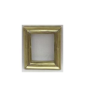 Resin Frame Gold (48x40x6mm)