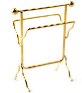 Brass Towel Rack (7cm x 6cm x 3cm )