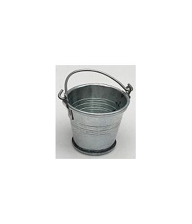 Tin Bucket (Diam Bottom 23, Top 36, 33H or 60Hmm with handle)