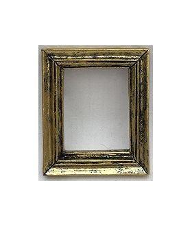 Resin Frame Gold/Black (48x40x6mm)